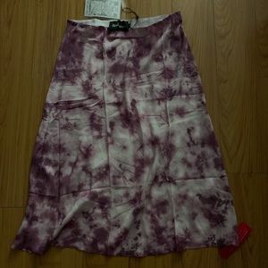 Realisation limited edition tie dyed skirt.